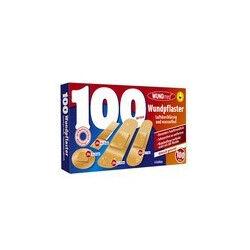 BOITE DE 100 PANSEMENTS ASSORTIS WUNDMED