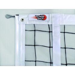 FILET DE VOLLEY-BALL TOURNOI 3MM - RENFORCÉ PAR BANDES PVC POWERSHOT
