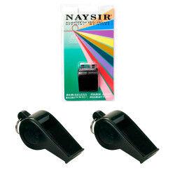 2 SIFFLETS AVEC ANNEAU N-1B NAYSIR