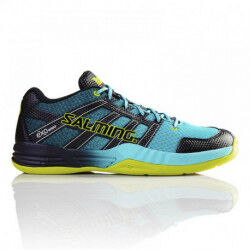 CHAUSSURES HANDBALL RACE X TURQUOISE HOMME SALMING DESTOCKAGE