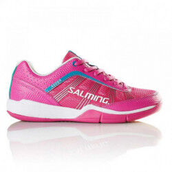 CHAUSSURES HANDBALL ADDER PINK FEMME SALMING DESTOCKAGE