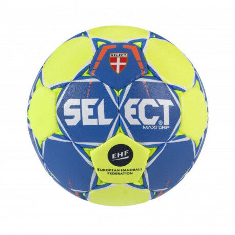 BALLON SELECT HANDBALL MAXI GRIP COLLANT SANS RESINE