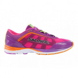 CHAUSSURES DE RUNNING DISTANCE DAME ROSE VIOLET SALMING