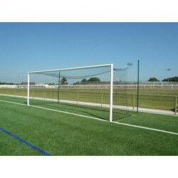 PAIRE DE BUTS FOOTBALL À 11 À SCELLER ALUMINIUM DIAMÈTRE 102 MM SPORTIFRANCE