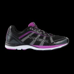 CHAUSSURES RUNNING DAME DISTANCE A2 GUNMETAL ROSE SALMING