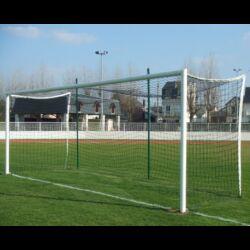 PAIRE DE BUTS FOOTBALL À 8 À SCELLER ALUMINIUM AVEC OREILLES SPORTIFRANCE