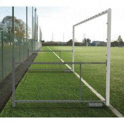 PAIRE DE BUTS FOOTBALL À 8 REPLIABLES PROFONDEUR 2.10 À 3.10M SPORTIFRANCE
